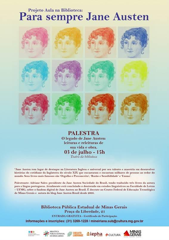 para sempre Austen julho